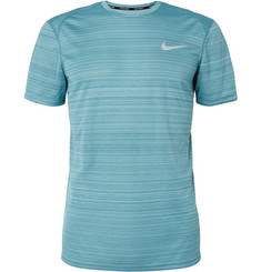 Nike Running Miler Dri-FIT Jersey and Mesh T-Shirt