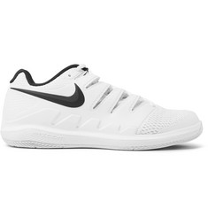 Nike Tennis Air Zoom Vapor X Rubber and Mesh Sneakers