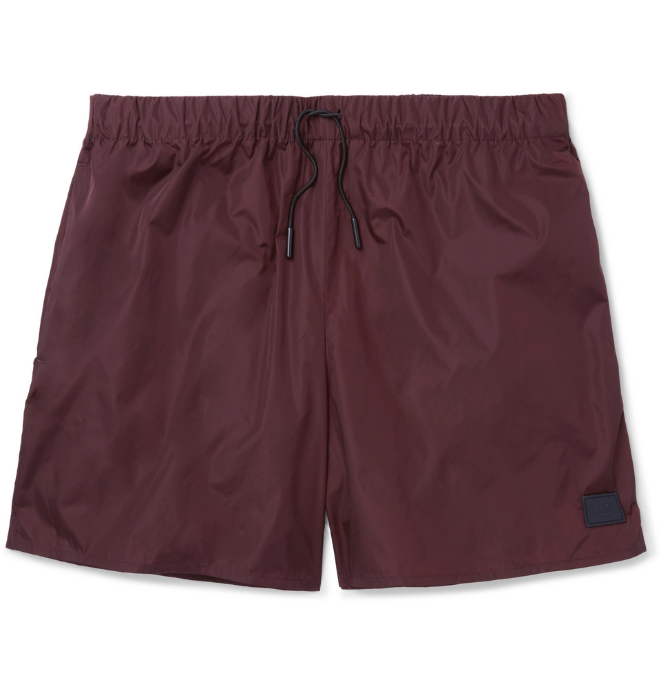 Perry Mid-length Swim Shorts - Merlot