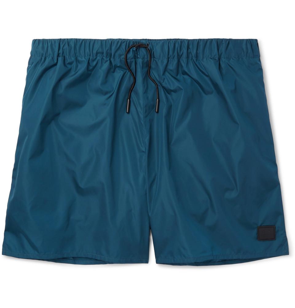 Perry Mid-length Swim Shorts - Petrol