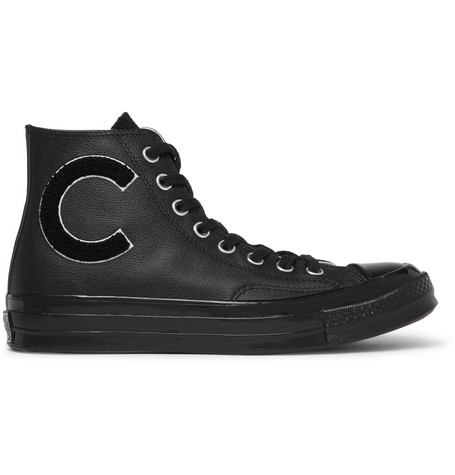 c288931632e6 Converse 1970S Chuck Taylor All Star AppliquÉD Full-Grain Leather High-Top  Sneakers In