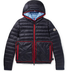 Moncler Archedois Packable Quilted Shell Hooded Down Jacket