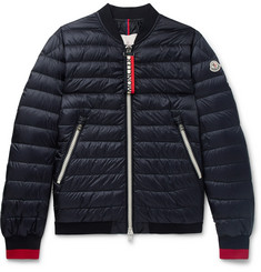 Moncler - Daneb Quilted Shell Down Bomber Jacket
