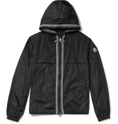Moncler - Anton Webbing-Trimmed Nylon Hooded Jacket