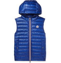 Moncler - Gien Quilted Shell Hooded Down Gilet