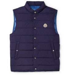 Moncler - Febe Slim-Fit Quilted Shell Down Gilet