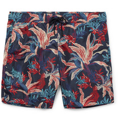 Moncler - Mid-Length Printed Swim Shorts