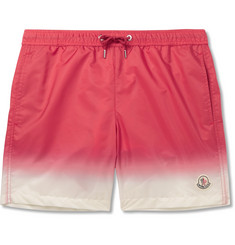 Moncler - Mid-Length Dégradé Swim Shorts