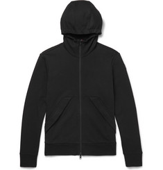 Moncler Slim-Fit Cotton-Jersey Zip-Up Hoodie