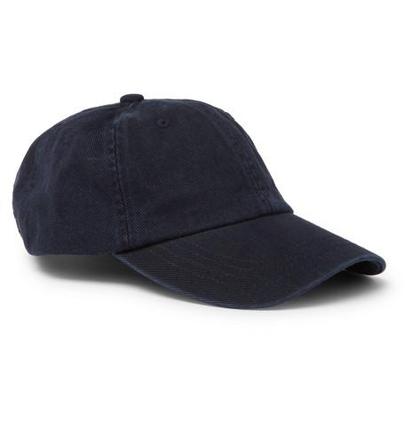 Acne Studios Carliy Embroidered Cotton-Twill Baseball Cap In Navy ... e1e301885eb3