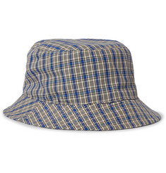 Acne Studios Checked Canvas Bucket Hat