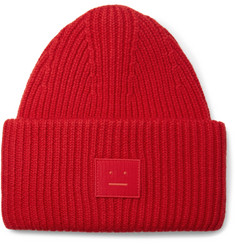 Acne Studios Ribbed Wool Beanie