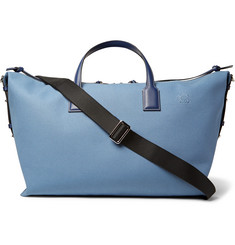 Loewe Leather-Trimmed Canvas Holdall