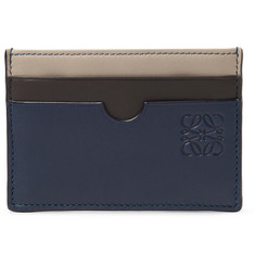 Loewe - Colour-Block Leather Cardholder