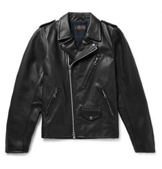 Beams Plus - Leather Biker Jacket