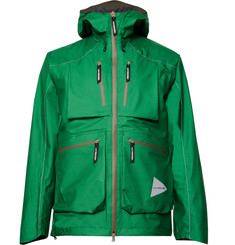 And Wander - E Vent Nylon-Ripstop Hooded Jacket