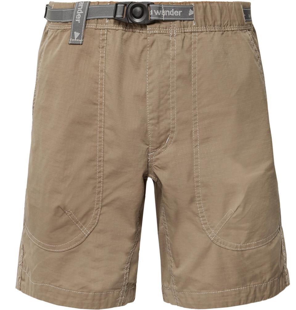 Coolmax-ripstop Shorts - Mushroom