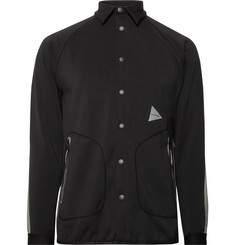 And Wander - Tape-Trimmed Neoprene Shirt