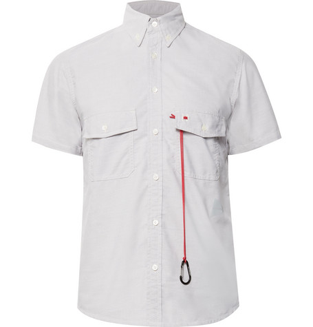 AND WANDER BUTTON-DOWN COLLAR COOLMAX OXFORD SHIRT