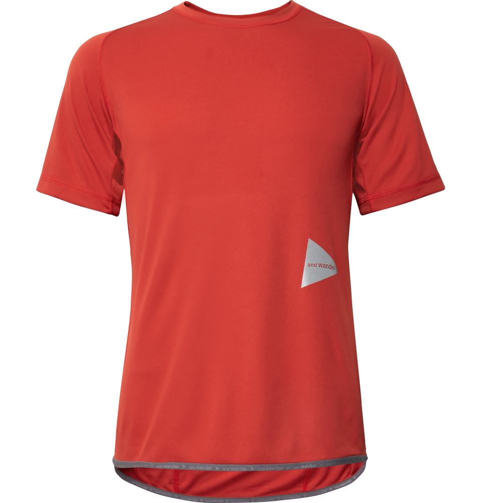 Tech-jersey T-shirt - Red