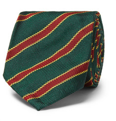Rubinacci 7.5cm Striped Silk Tie