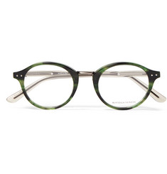 Bottega Veneta - Round-Frame Acetate Optical Glasses