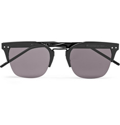 Bottega Veneta D-Frame Coated-Aluminium Sunglasses