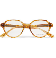 Bottega Veneta - Round-Frame Tortoiseshell Acetate Optical Glasses
