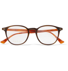 Gucci - Round-Frame Acetate Optical Glasses