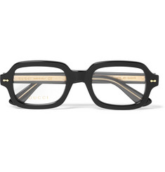 Gucci - Square-Frame Acetate Optical Glasses