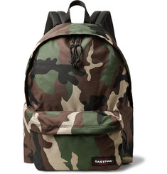Eastpak - Padded Pak'r XL Camouflage Canvas Backpack