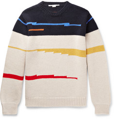 Stella McCartney Jacquard-Knit Virgin Wool Sweater