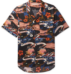 Stella McCartney Camp-Collar Printed Cotton Shirt