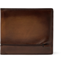 Berluti Makore Polished Venezia Leather Billfold Wallet