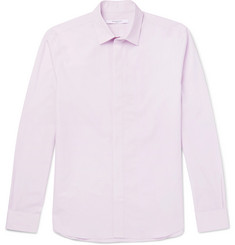 Givenchy Embroidered Cotton-Poplin Shirt