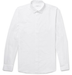 Givenchy - Embroidered Cotton-Poplin Shirt