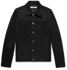 Givenchy Slim-Fit Embroidered Denim Jacket