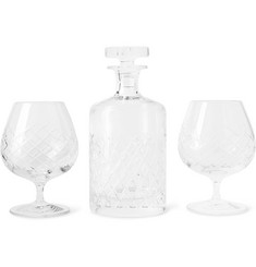 Soho Home - Barwell Cut Crystal Brandy Set