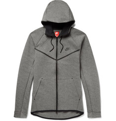 Nike Sportswear Cotton-Blend Tech Fleece Zip-Up Hoodie