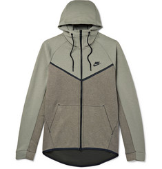 Nike Sportswear Cotton-Blend Tech Fleece Hoodie