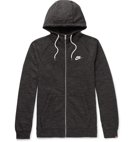 Limited Edition Online Manchester Cheap Price Legacy Mélange Loopback Cotton-jersey Zip-up Hoodie Nike Cheap Sale Eastbay Buy Cheap New Styles zwZA6