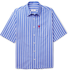 AMI Striped Cotton Shirt