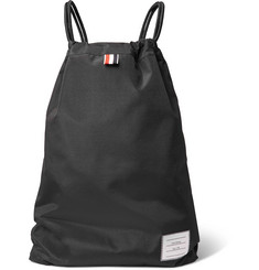 Thom Browne Nylon Drawstring Backpack