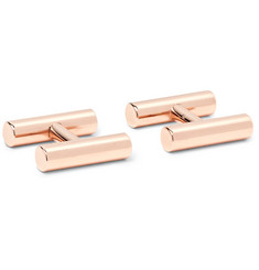 Alice Made This Kiston Rose Gold-Plated Cufflinks