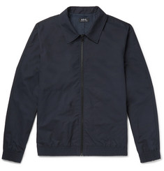 A.P.C. Laurent Coated-Cotton Blouson Jacket