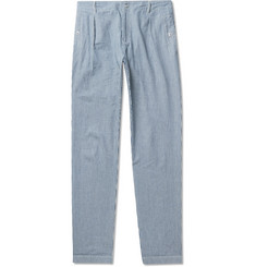 A.P.C. - Donnie Striped Cotton Trousers