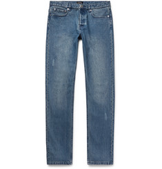 A.P.C. Petit Standard Slim-Fit Distressed Denim Jeans