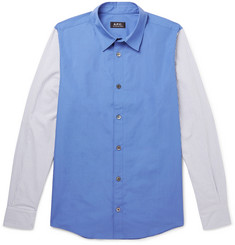 A.P.C. Jensen Printed Cotton-Poplin Shirt