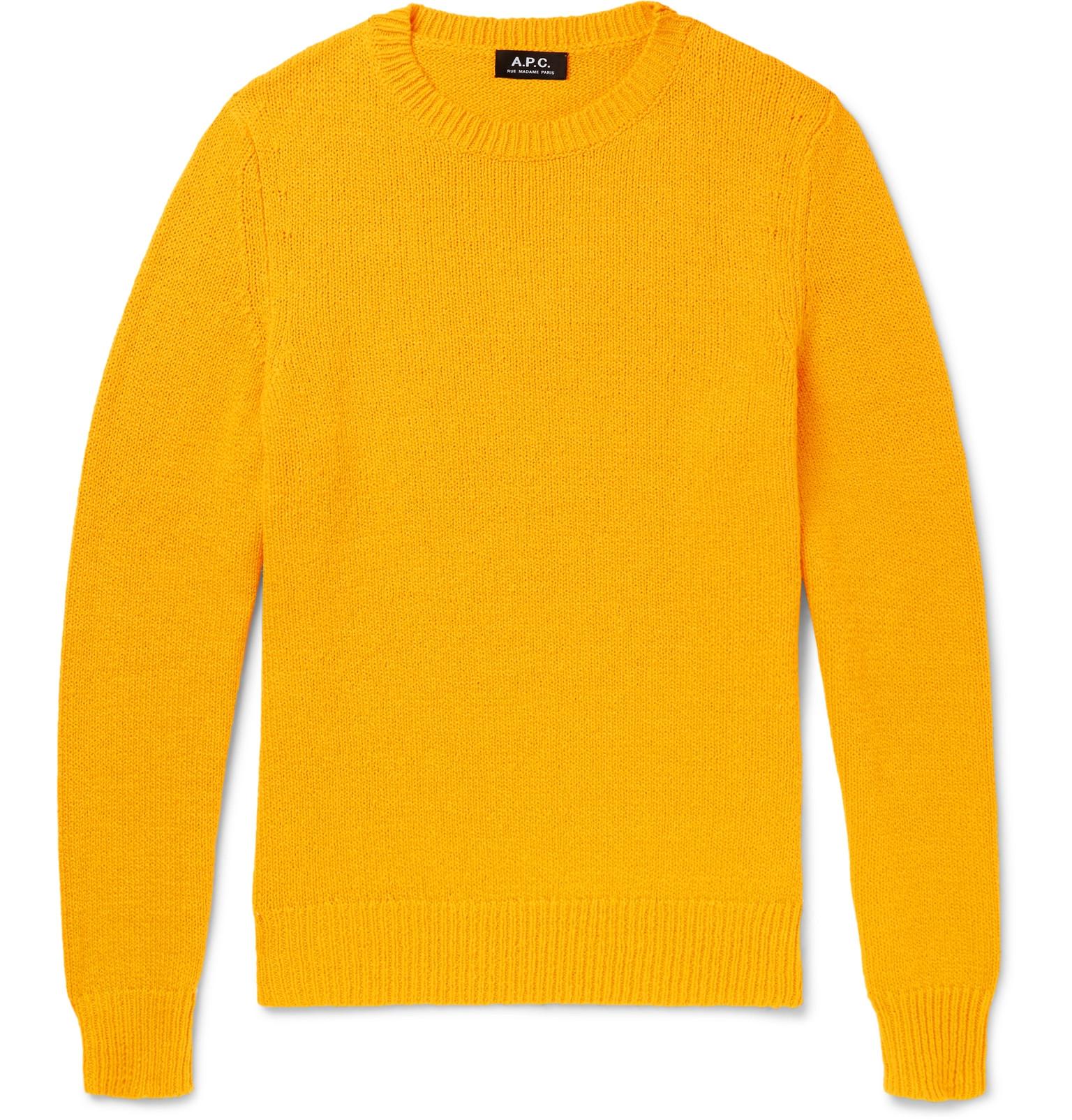A.P.C. - Pull Lagoon Cotton Sweater