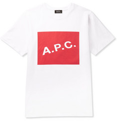 A.P.C. Kraft Printed Cotton-Jersey T-Shirt